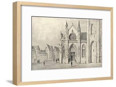 'The Portal of the Church of St Jacques la Boucherie', 1915-Unknown-Framed Giclee Print