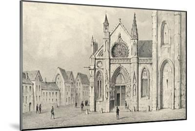 'The Portal of the Church of St Jacques la Boucherie', 1915-Unknown-Mounted Giclee Print