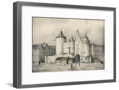 'The Grand Chatelet', 1915-Unknown-Framed Giclee Print