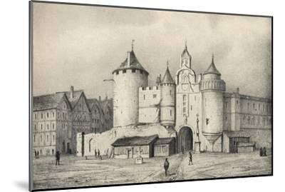 'The Grand Chatelet', 1915-Unknown-Mounted Giclee Print