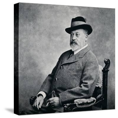 King Edward VII in a Tyrolean hat, 1903 (1911)-Unknown-Stretched Canvas Print