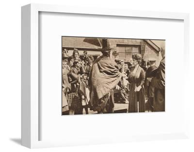 Royal tour of Wales, c1920s (1935)-Unknown-Framed Photographic Print