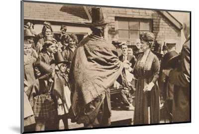 Royal tour of Wales, c1920s (1935)-Unknown-Mounted Photographic Print