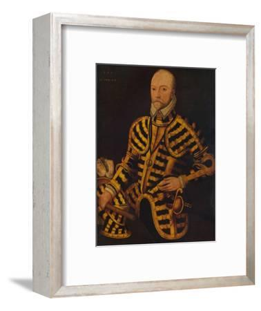 'William Somerset, 3rd Earl of Worcester', c16th century-Unknown-Framed Giclee Print