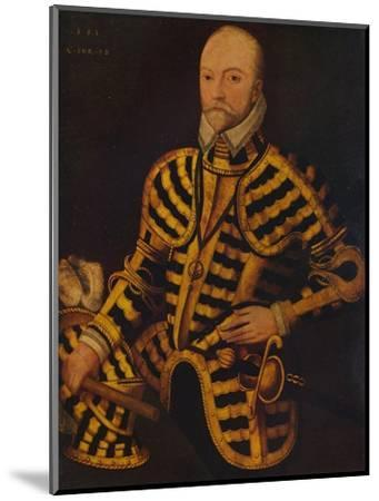 'William Somerset, 3rd Earl of Worcester', c16th century-Unknown-Mounted Giclee Print