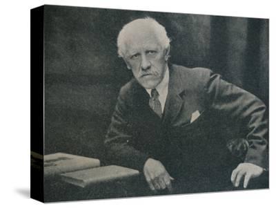 'Portrait of Dr. Fridtjof Nansen', c1920-Unknown-Stretched Canvas Print
