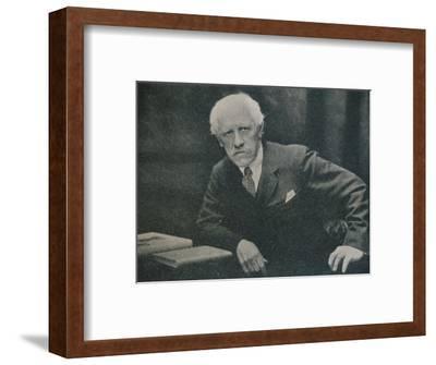 'Portrait of Dr. Fridtjof Nansen', c1920-Unknown-Framed Photographic Print
