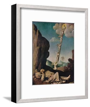 'Jacob's Dream', c1490-Unknown-Framed Giclee Print