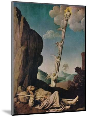 'Jacob's Dream', c1490-Unknown-Mounted Giclee Print
