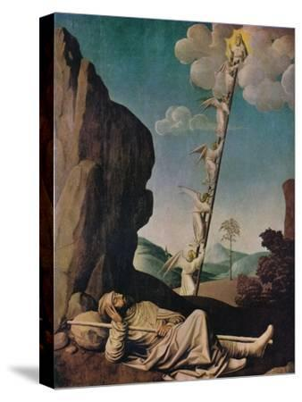 'Jacob's Dream', c1490-Unknown-Stretched Canvas Print