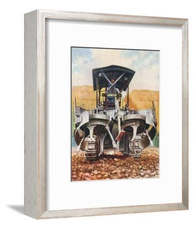 'The 'Gyrotiller', 1938-Unknown-Framed Giclee Print