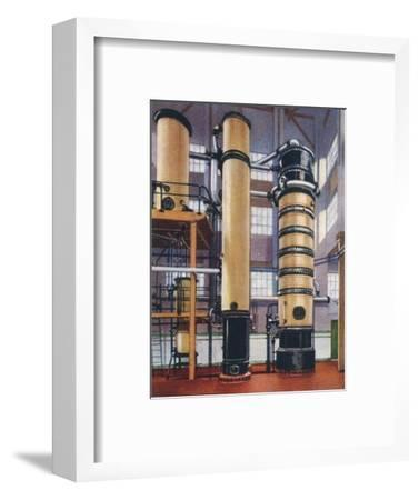 Benzole recovery plant, 1938-Unknown-Framed Giclee Print