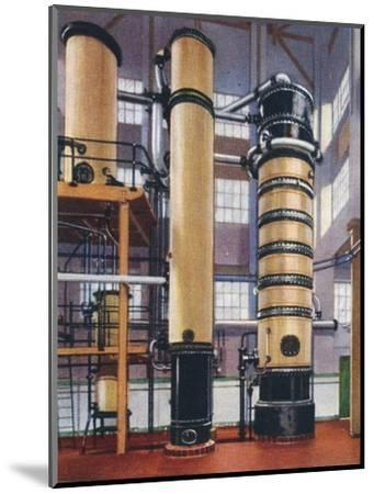 Benzole recovery plant, 1938-Unknown-Mounted Giclee Print
