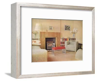 'Mr John Duncan Miller's flat', 1932-Unknown-Framed Photographic Print