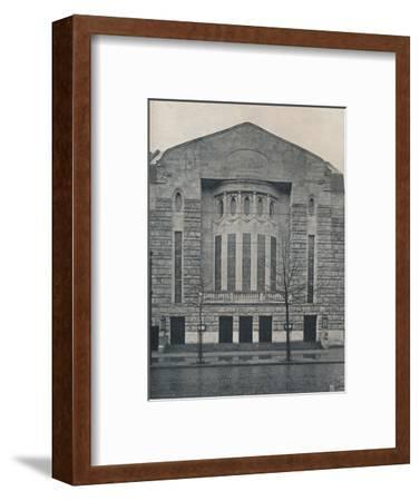 'The New Hebbel Theatre, Berlin', c1908-Unknown-Framed Photographic Print
