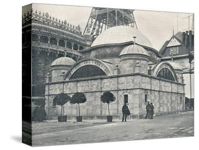 'Peninsular and Oriental Pavilion (River Front)', c1900-Unknown-Stretched Canvas Print