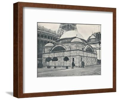 'Peninsular and Oriental Pavilion (River Front)', c1900-Unknown-Framed Photographic Print