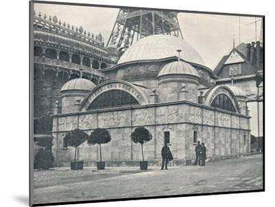 'Peninsular and Oriental Pavilion (River Front)', c1900-Unknown-Mounted Photographic Print