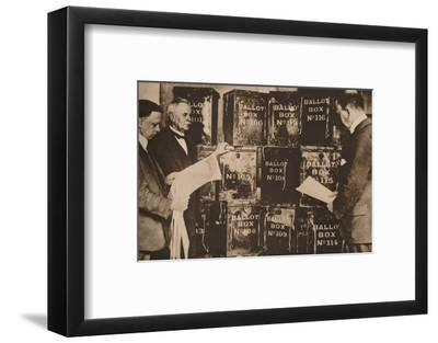 The second general election of 1924 (1935)-Unknown-Framed Photographic Print