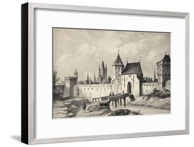 'The Porte du Temple', 1915-Unknown-Framed Giclee Print