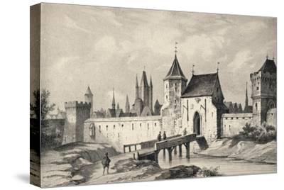 'The Porte du Temple', 1915-Unknown-Stretched Canvas Print