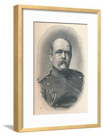 '3 - Otto Van Bismarck At Four Stages Of His Career', 1907-Unknown-Framed Giclee Print