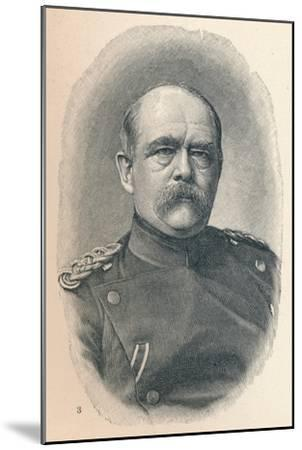'3 - Otto Van Bismarck At Four Stages Of His Career', 1907-Unknown-Mounted Giclee Print