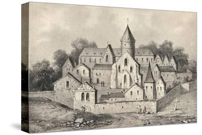 'The Abbey of St Antoine des Champs', 1915-Unknown-Stretched Canvas Print