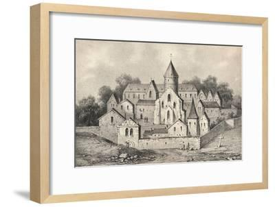 'The Abbey of St Antoine des Champs', 1915-Unknown-Framed Giclee Print