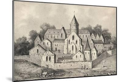 'The Abbey of St Antoine des Champs', 1915-Unknown-Mounted Giclee Print