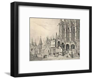 'The Staircase of the Sainte-Chapelle', 1700 (1915)-Unknown-Framed Giclee Print