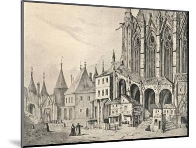 'The Staircase of the Sainte-Chapelle', 1700 (1915)-Unknown-Mounted Giclee Print