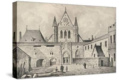 The Carmelite monastery on the Rue d'Enfer, Paris, 1915-Unknown-Stretched Canvas Print