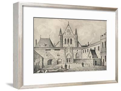 The Carmelite monastery on the Rue d'Enfer, Paris, 1915-Unknown-Framed Giclee Print