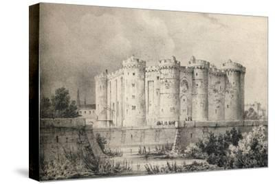 'The Bastille in 1700', 1915-Unknown-Stretched Canvas Print