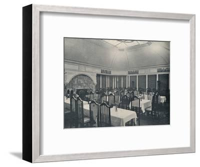 'The Morris Room at the Clarion Café, Manchester', c1911-Unknown-Framed Photographic Print