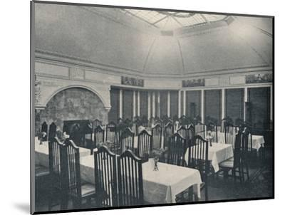 'The Morris Room at the Clarion Café, Manchester', c1911-Unknown-Mounted Photographic Print