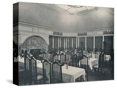 'The Morris Room at the Clarion Café, Manchester', c1911-Unknown-Stretched Canvas Print