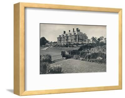 'Dunchurch Lodge, near Rugby', c1911-Unknown-Framed Photographic Print