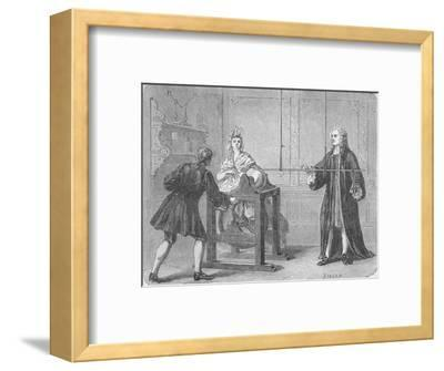 The discovery of the Leyden Jar, 1745 (1894)-Unknown-Framed Giclee Print