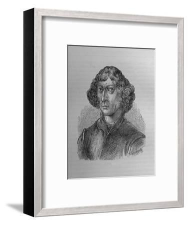 Nicolaus Copernicus, Polish mathematician and astronomer, 1894-Unknown-Framed Giclee Print