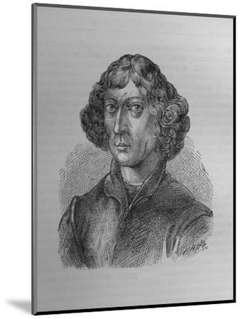 Nicolaus Copernicus, Polish mathematician and astronomer, 1894-Unknown-Mounted Giclee Print