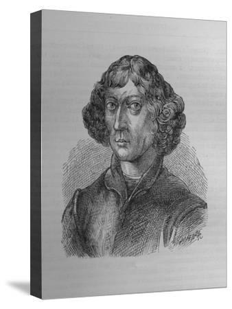Nicolaus Copernicus, Polish mathematician and astronomer, 1894-Unknown-Stretched Canvas Print