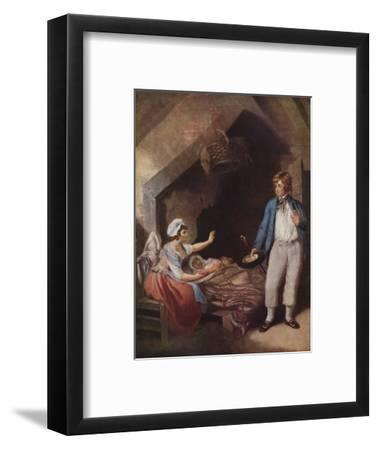 The Sailor's Return, 1786, (1915)-William Ward-Framed Giclee Print