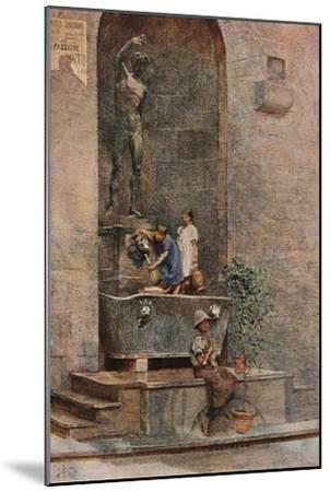 'The Fountain', c1904-Herbert Alexander Collins-Mounted Giclee Print