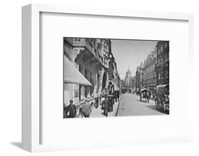 Fleet Street, City of London, c1900 (1911)-Pictorial Agency-Framed Photographic Print
