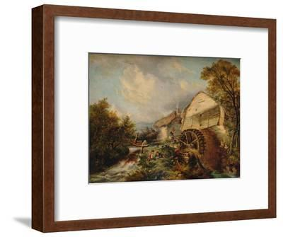 'Holly Street', 1847, (1938)-George Burrell Willcock-Framed Giclee Print