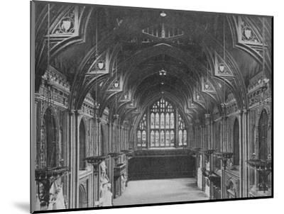 Interior of the Guildhall, City of London, c1904 (1906)-Photochrom Co Ltd of London-Mounted Photographic Print