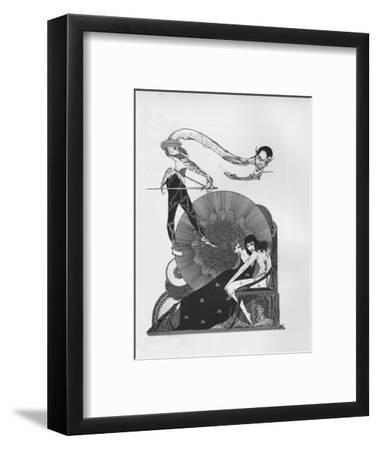 'Half-Title of Goethe's Faust', 1925-Harry Clarke-Framed Giclee Print