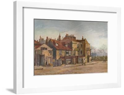 View of Lawrence Street, Chelsea, London, 1882-John Crowther-Framed Giclee Print